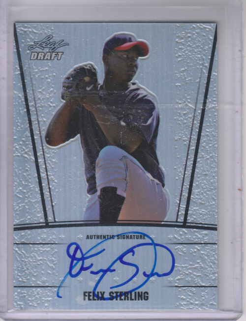 2011 Leaf Metal Draft Prismatic #FS1 Felix Sterling