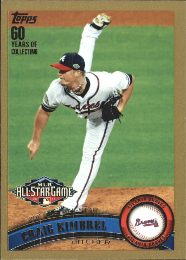 2011 Topps Update Gold #US143 Craig Kimbrel