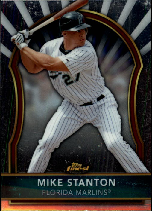 2011 Finest #44 Mike Stanton