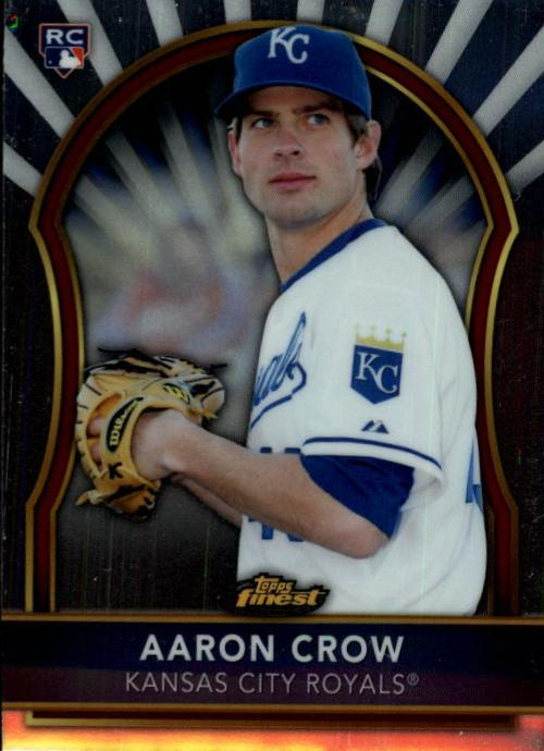 2011 Finest #96 Aaron Crow RC