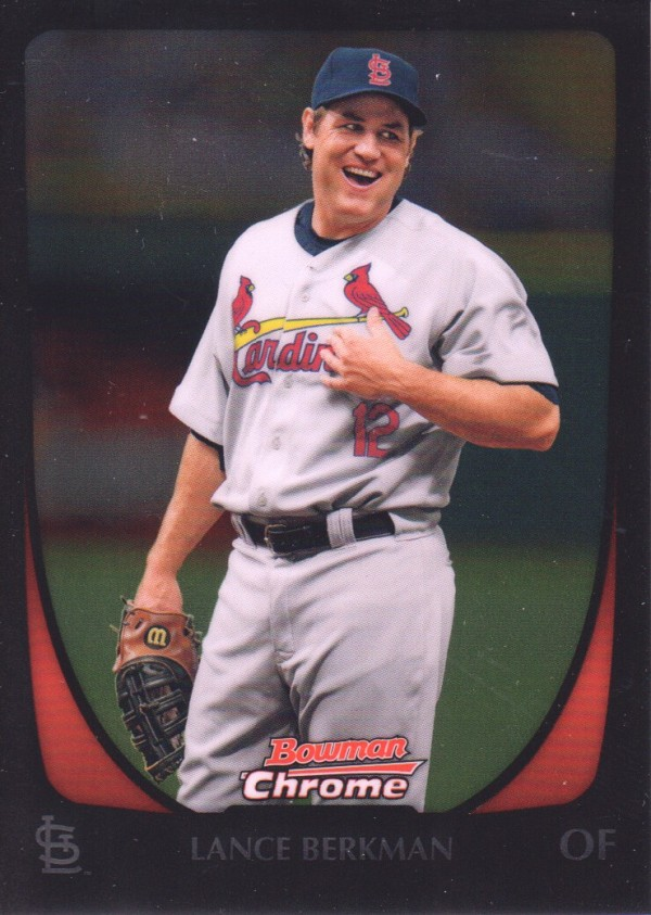 2011 Bowman Chrome #34 Lance Berkman