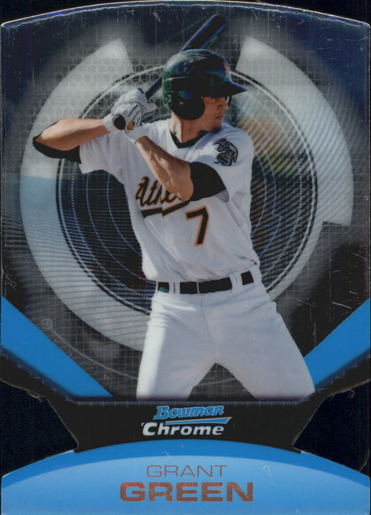 2011 Bowman Chrome Futures #5 Grant Green
