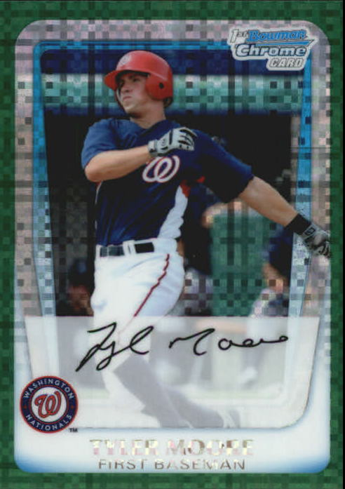 2011 Bowman Chrome Prospects Green X-Fractors #BCP138 Tyler Moore