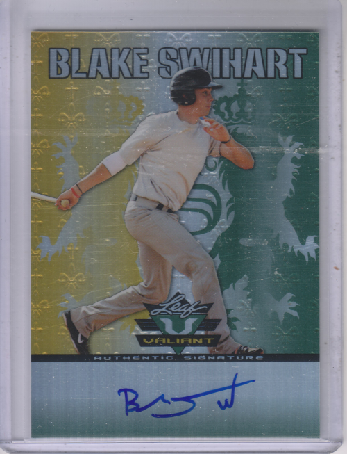 2011 Leaf Valiant Draft #BS1 Blake Swihart