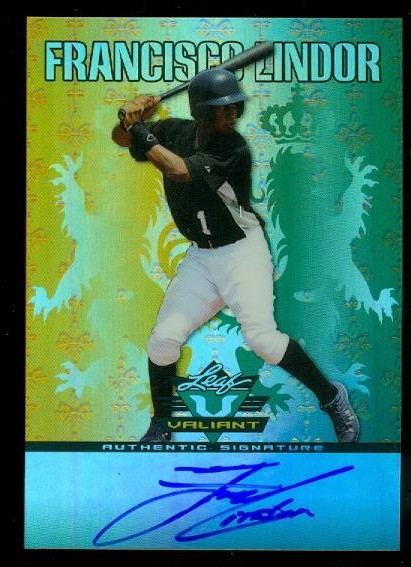 2011 Leaf Valiant Draft #FL1 Francisco Lindor