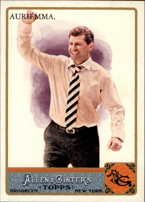 2011 Topps Allen and Ginter Glossy #133 Geno Auriemma