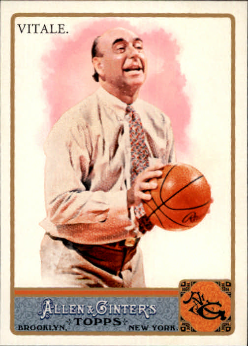 2011 Topps Allen and Ginter Glossy #136 Dick Vitale