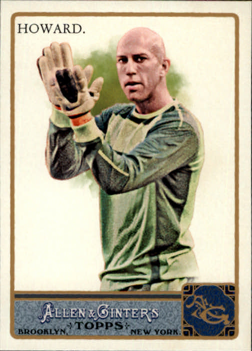2011 Topps Allen and Ginter Glossy #139 Tim Howard