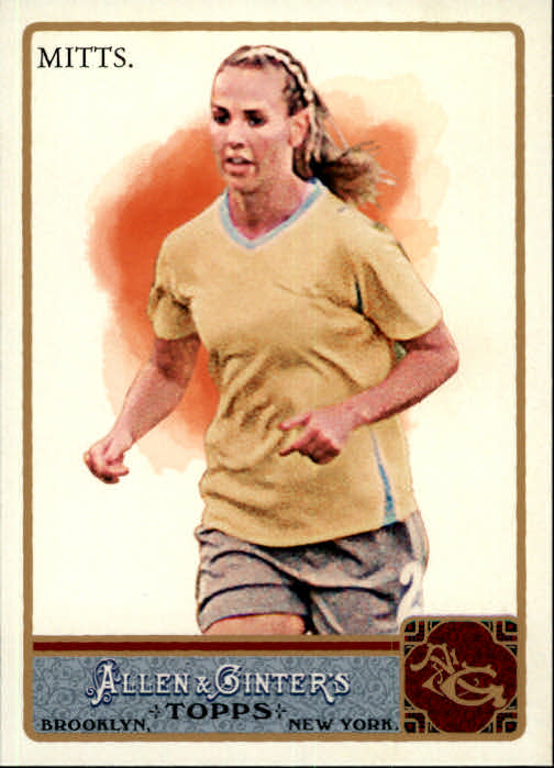 2011 Topps Allen and Ginter Glossy #164 Heather Mitts