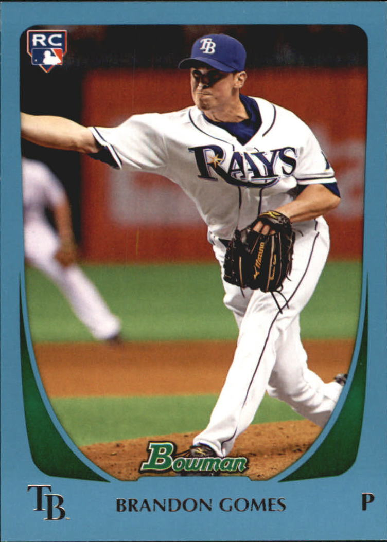 2011 Bowman Draft Blue #41 Brandon Gomes