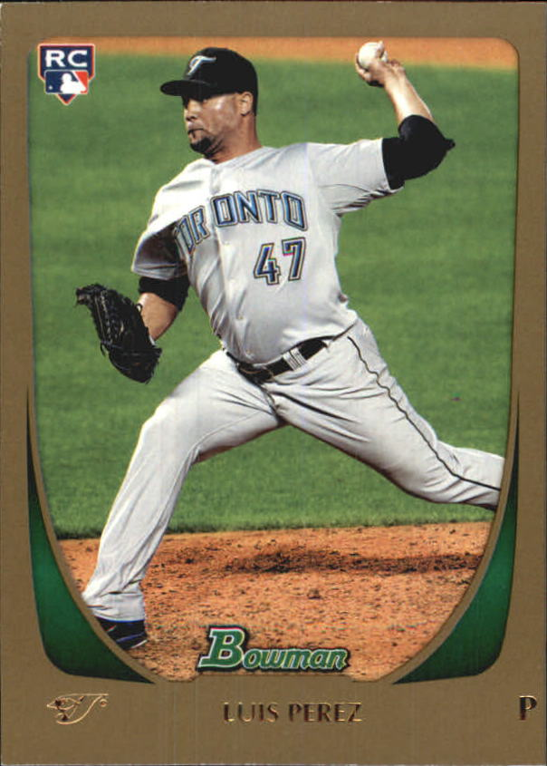 2011 Bowman Draft Gold #69 Luis Perez