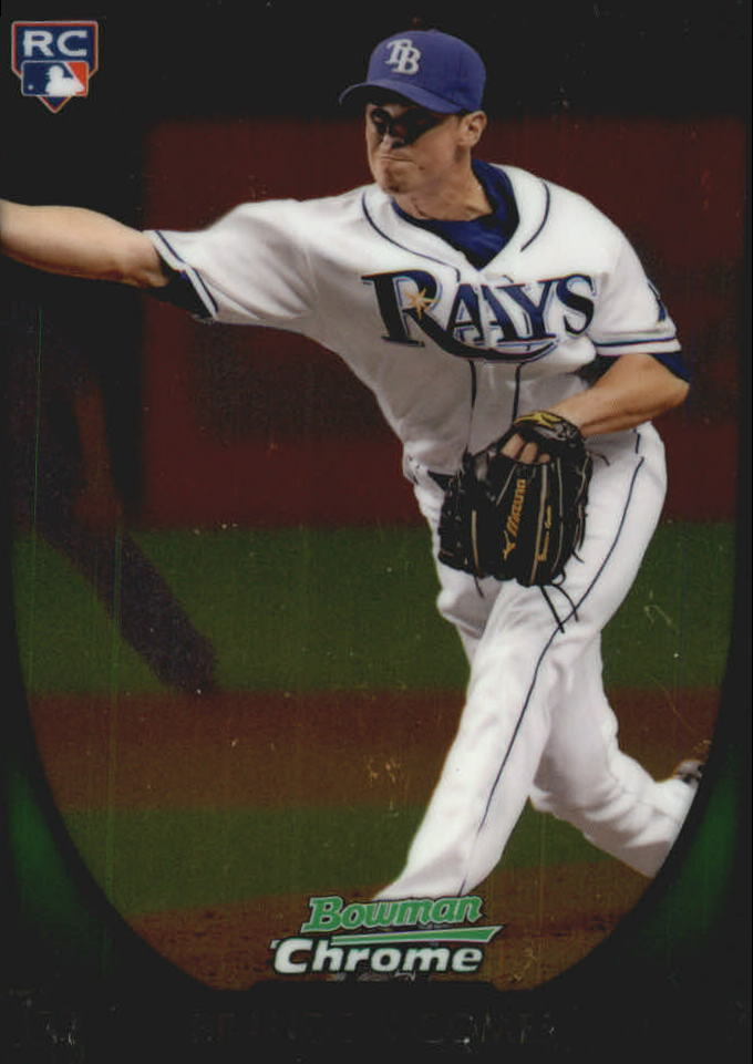 2011 Bowman Chrome Draft #41 Brandon Gomes RC