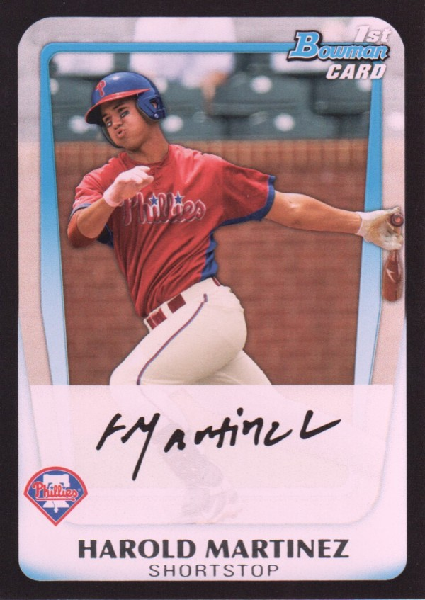 2011 Bowman Draft Prospects #BDPP19 Harold Martinez