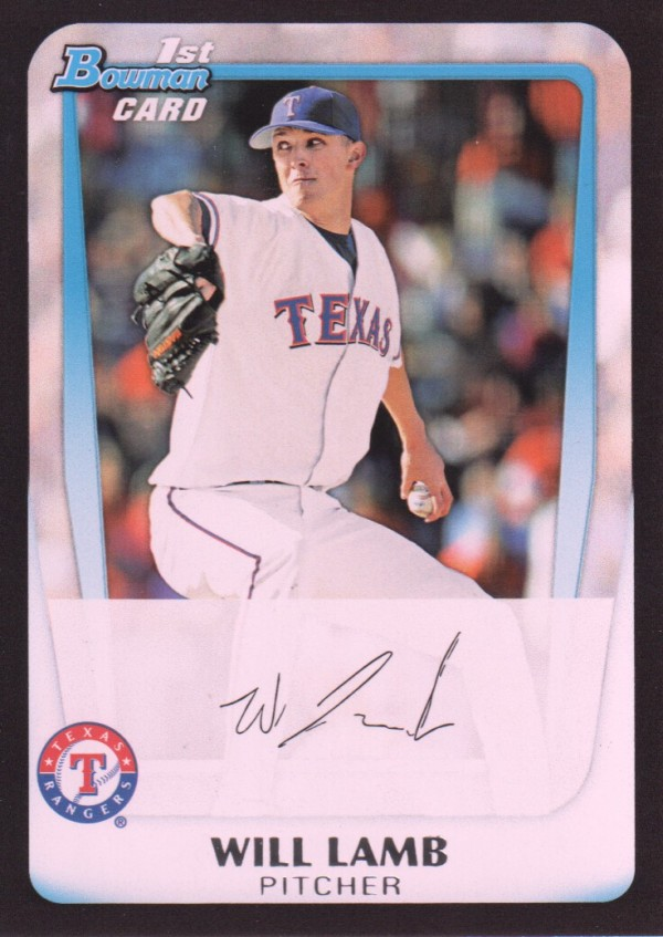2011 Bowman Draft Prospects #BDPP20 Will Lamb