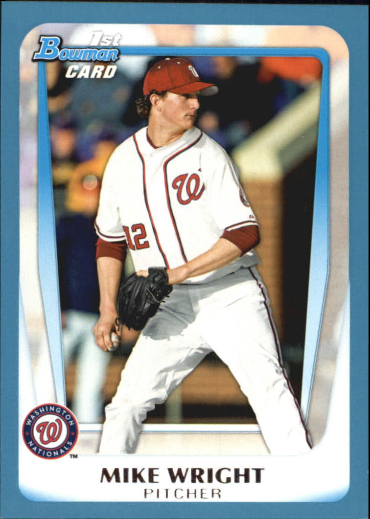 2011 Bowman Draft Prospects Blue #BDPP11 Mike Wright