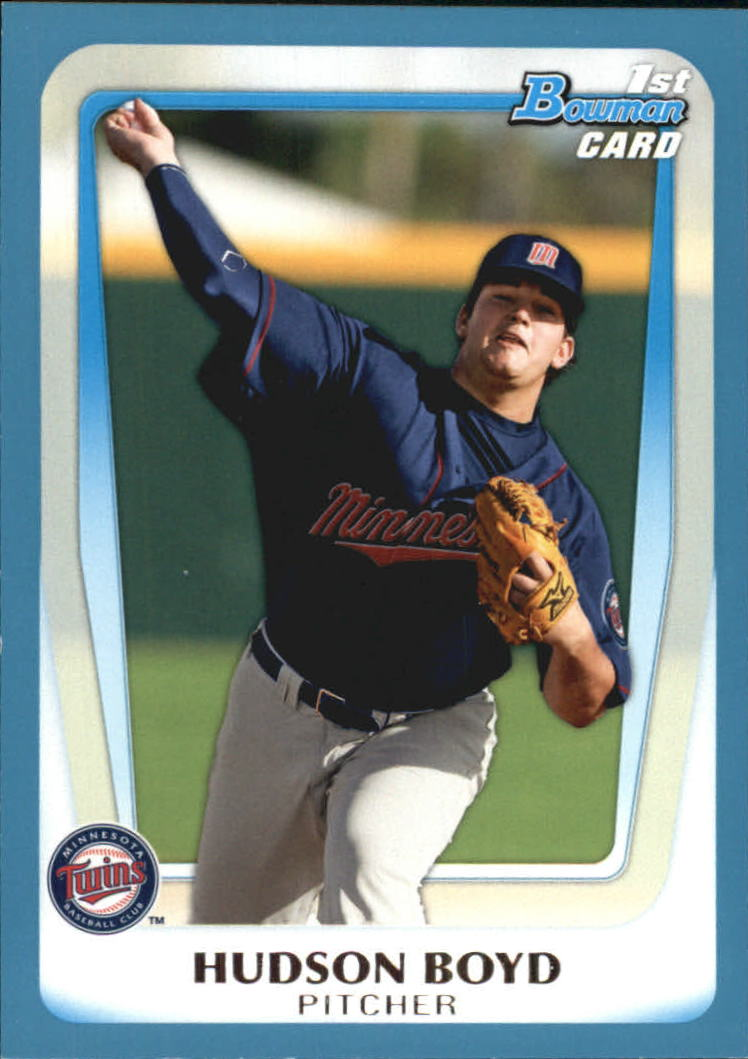 2011 Bowman Draft Prospects Blue #BDPP13 Hudson Boyd