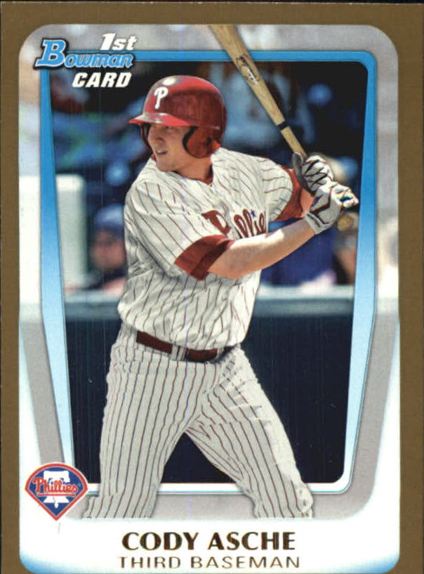 2011 Bowman Draft Prospects Gold #BDPP2 Cody Asche