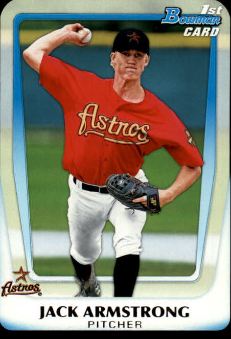 2011 Bowman Chrome Draft Prospects #BDPP4 Jack Armstrong