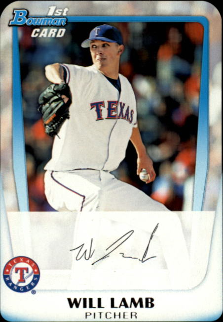 2011 Bowman Chrome Draft Prospects #BDPP20 Will Lamb