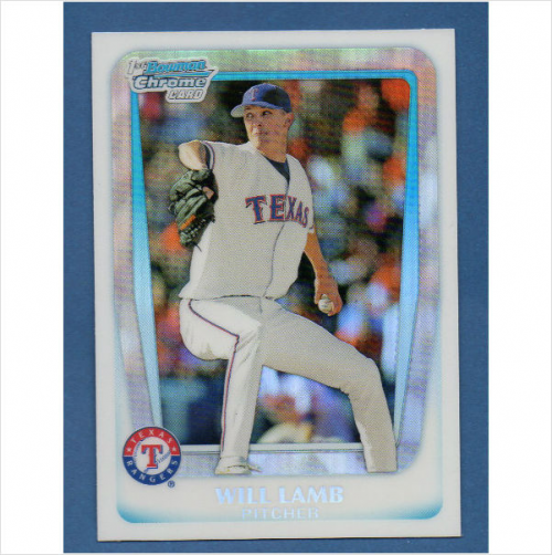 2011 Bowman Chrome Draft Prospects Refractors #BDPP20 Will Lamb