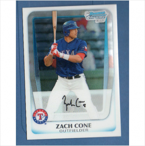 2011 Bowman Chrome Draft Prospects Refractors #BDPP22 Zach Cone