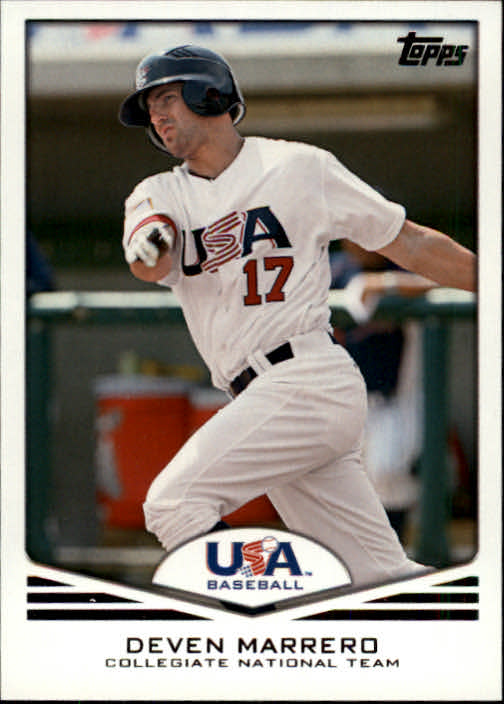 2011 USA Baseball #USA13 Deven Marrero