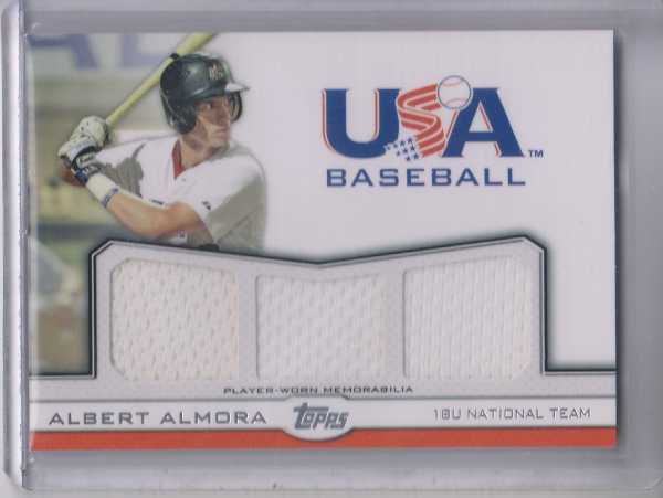 2011 USA Baseball Triple Jerseys #AA Albert Almora