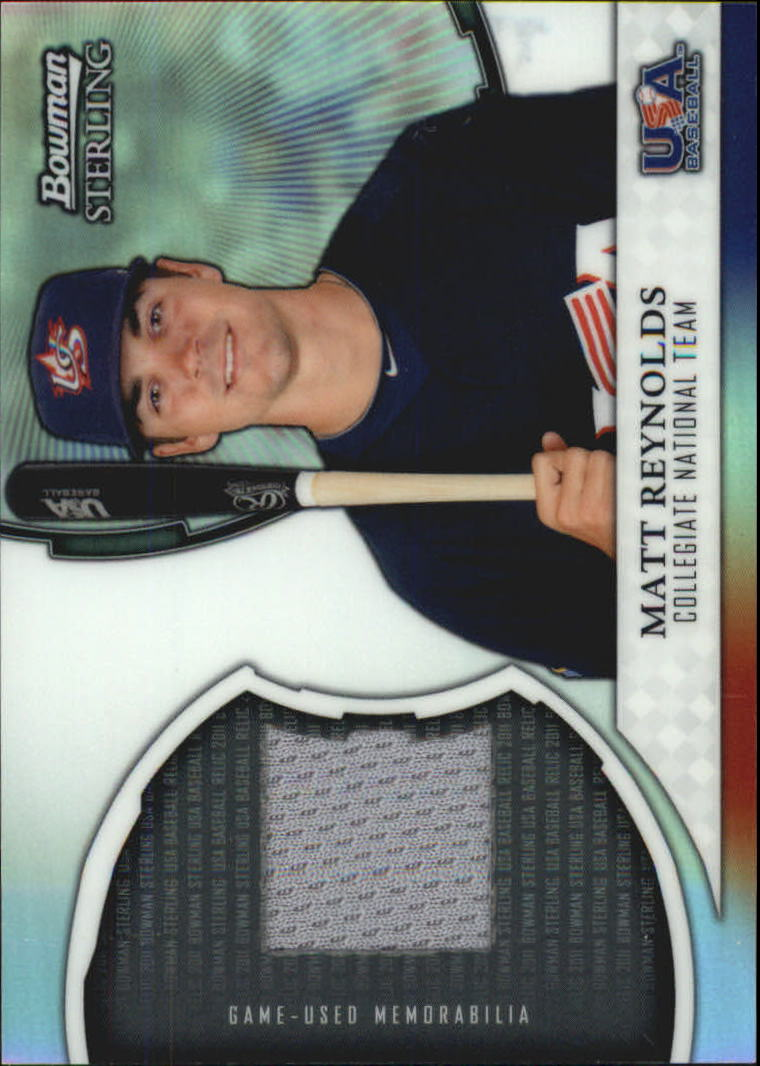 2011 Bowman Sterling USA Baseball Relics #MR Matt Reynolds