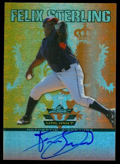 2011 Leaf Valiant Draft Purple #FS1 Felix Sterling