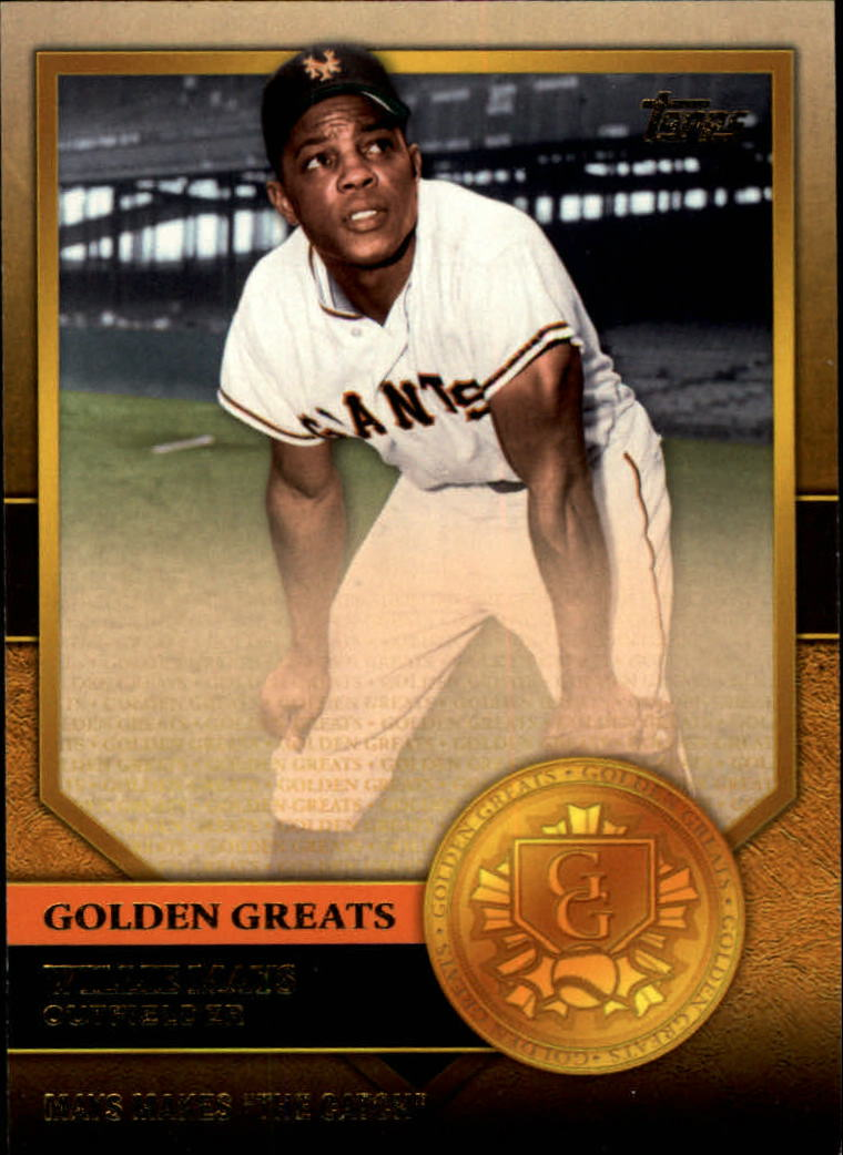 2012 Topps Golden Greats #GG11 Willie Mays