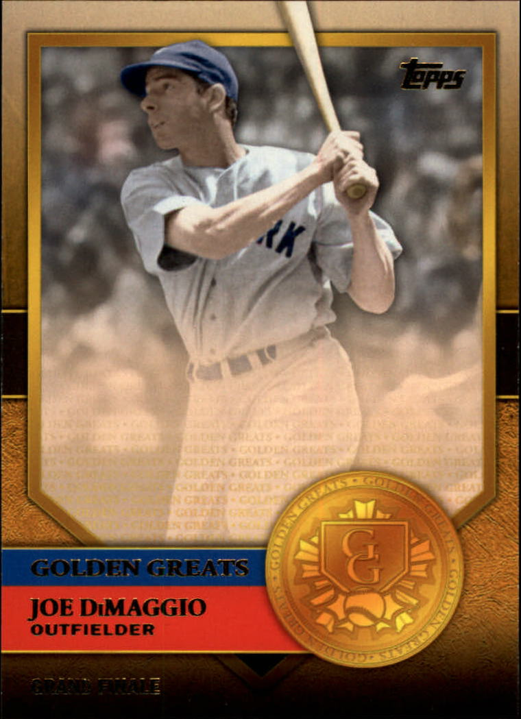 2012 Topps Golden Greats #GG23 Joe DiMaggio