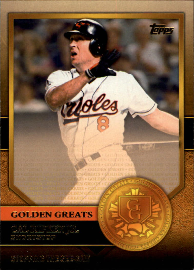 2012 Topps Golden Greats #GG44 Cal Ripken Jr.