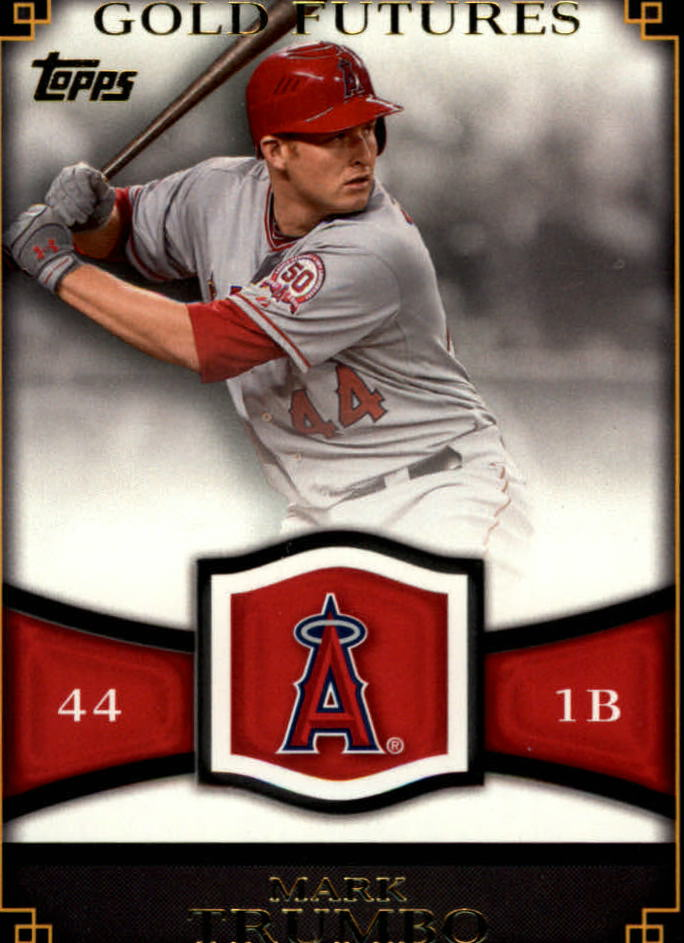 2012 Topps Gold Futures #GF15 Mark Trumbo