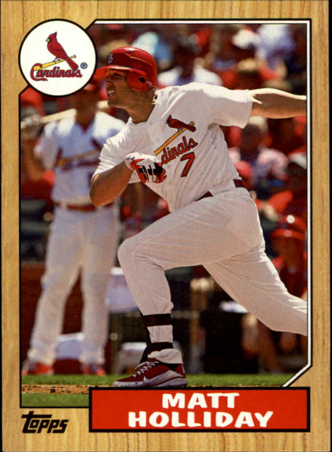 2012 Topps 1987 Topps Minis #TM21 Matt Holliday