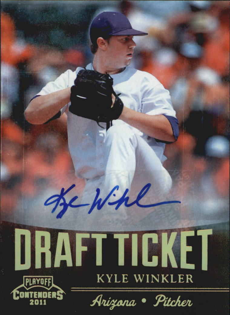 2011 Playoff Contenders Draft Ticket Autographs #DT69 Kyle Winkler