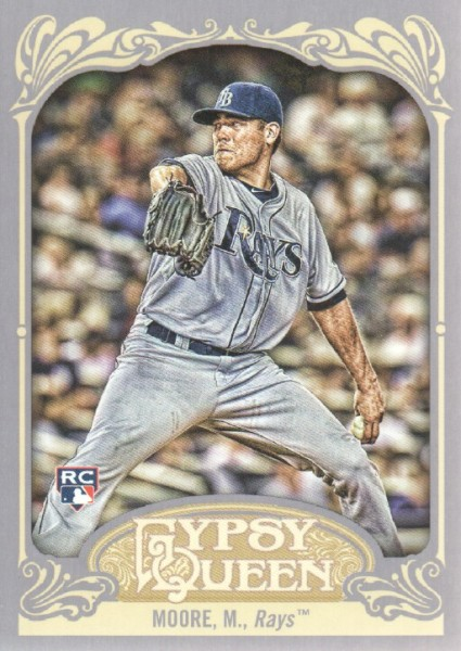 2012 Topps Gypsy Queen #6A Matt Moore RC