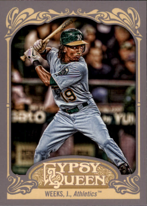 2012 Topps Gypsy Queen #204 Jemile Weeks RC