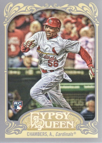 2012 Topps Gypsy Queen #208 Adron Chambers RC