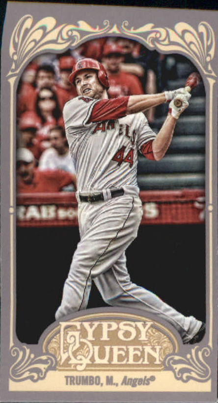 2012 Topps Gypsy Queen Mini #34A Mark Trumbo