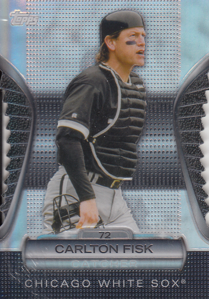 2012 Topps Golden Moments Die Cuts #GMDC50 Carlton Fisk