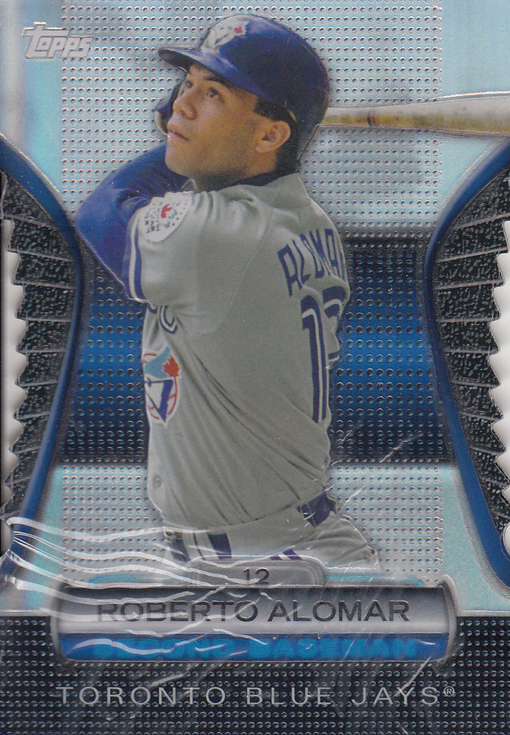 2012 Topps Golden Moments Die Cuts #GMDC73 Roberto Alomar