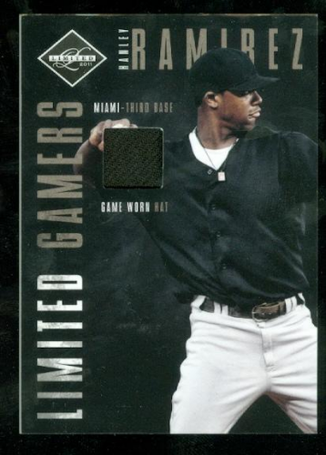 2011 Limited Gamers Caps #2 Hanley Ramirez/99