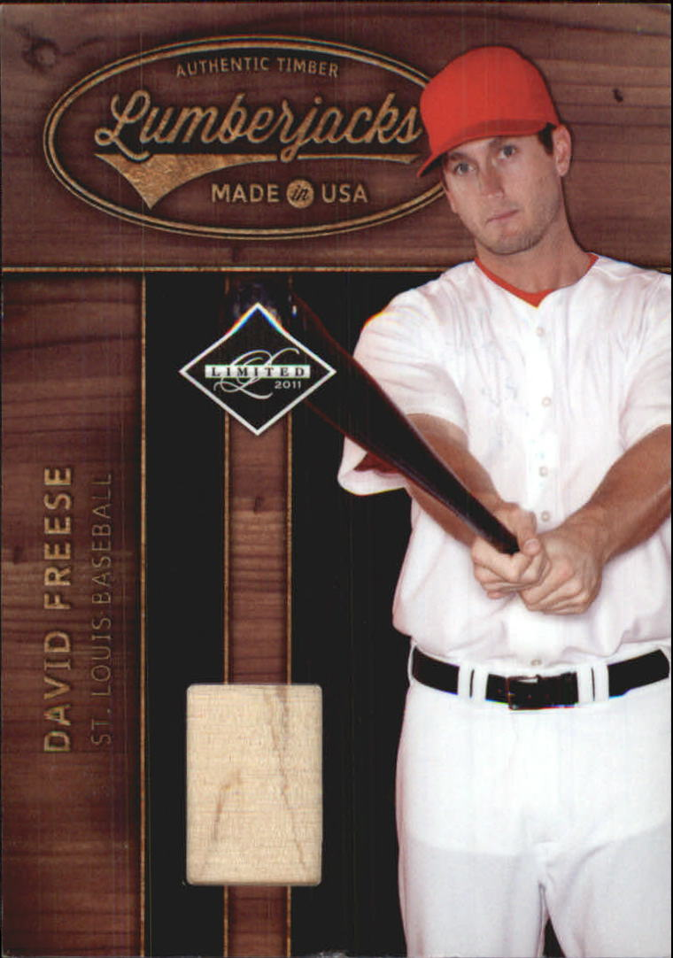 2011 Limited Lumberjacks Bats #7 David Freese/299