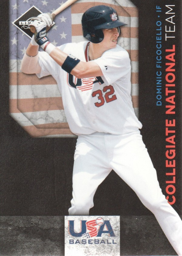 2011 Limited USA Baseball National Team #5 Dominic Ficociello