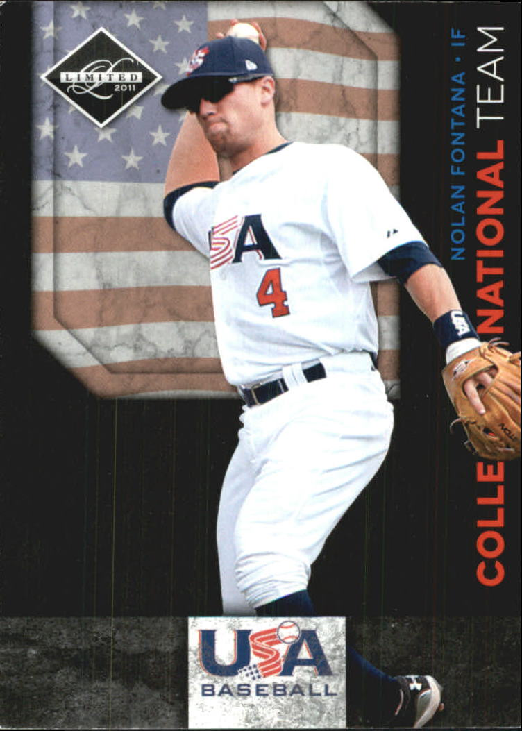 2011 Limited USA Baseball National Team #6 Nolan Fontana