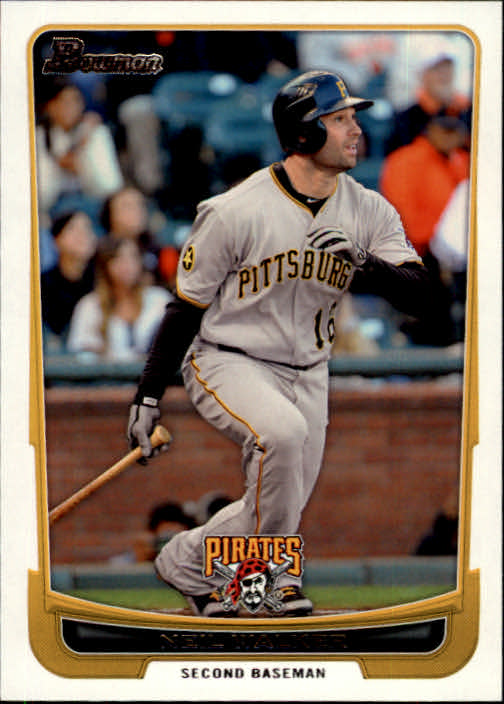 2012 Bowman #24 Neil Walker