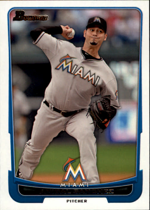 2012 Bowman #30 Anibal Sanchez