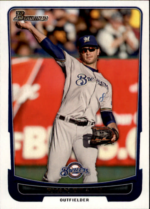 2012 Bowman #32 Ryan Braun