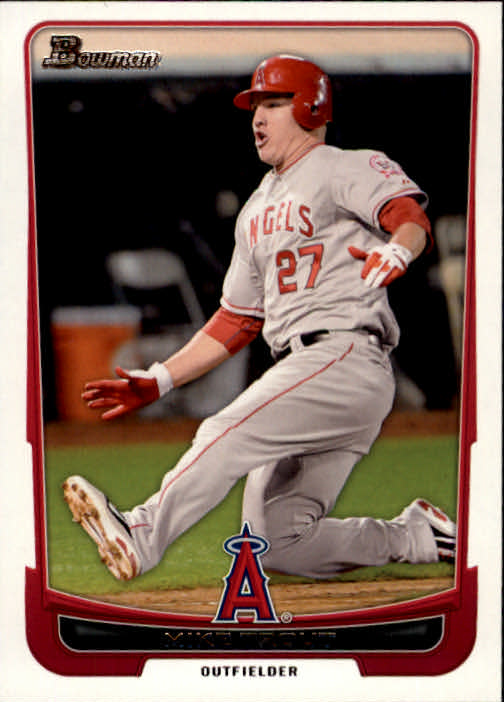 2012 Bowman #34 Mike Trout