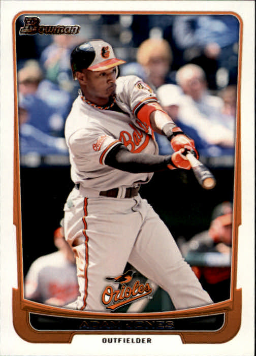 2012 Bowman #45 Adam Jones